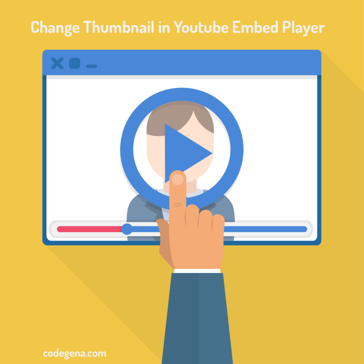Change Youtube Thumbnail In Embed Player - Codegena
