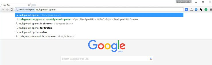 How to add google chrome omnibox-search support for your