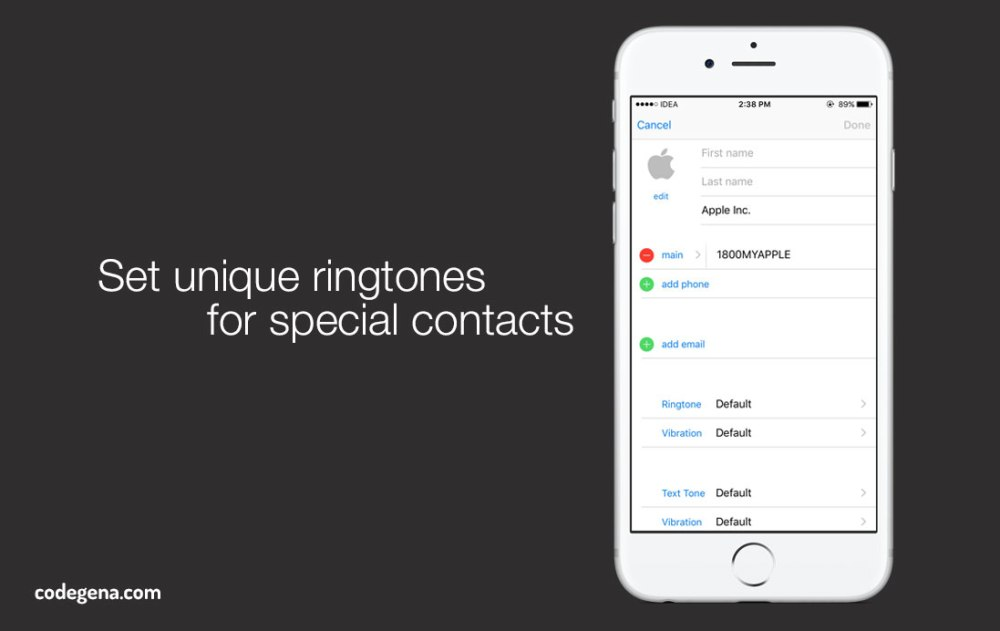 Hide Contacts And Mebages On Iphone