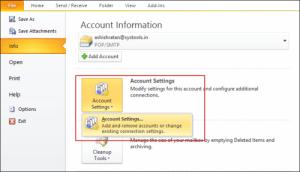unlock PST file