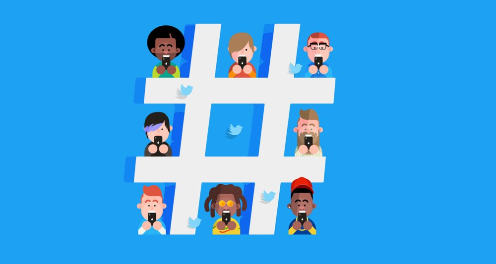 use hashtags to increase twitter engagement