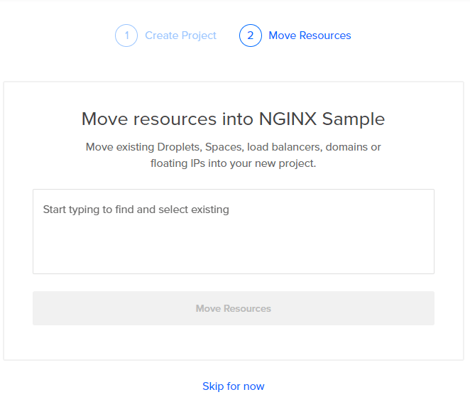 Move resources into NGINX Sample