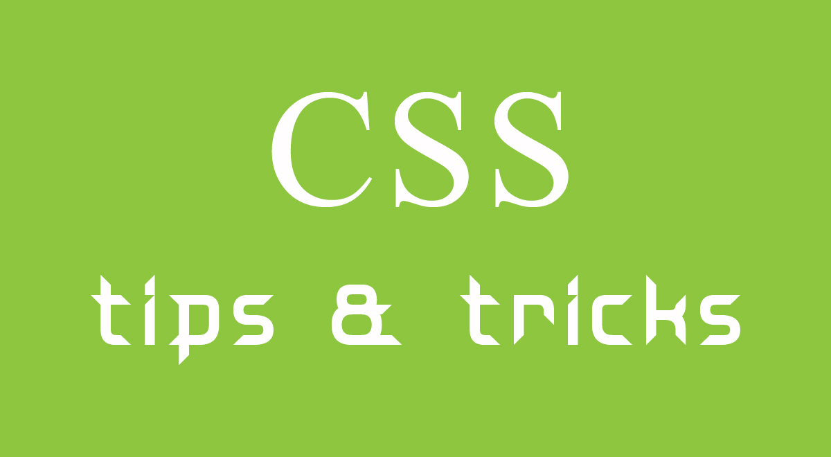 learn-css-tips-and-tricks