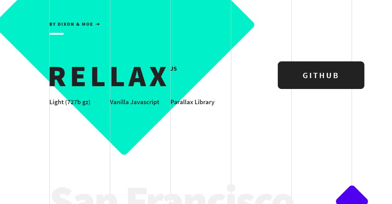 Rellax Demo   Vanilla Javascript Parallax Library