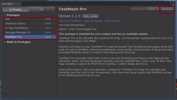 Deployment threw a bunch of errors showing Unity TextMeshPro as the culprit. So I just went over to Unity and removed the package from Package Manager.  Go to Unity-Window-Package Manager and a pop up appears.Click on TextMeshPro and Remove. While you are at it, also remove the Analytics Library, Ads and In App purchasing. We don't need any of this and it will speed up the build process. (OPTIMIZE!!!) Now build and deploy and let's see what happens.  When the app is deployed, you will see a popup asking you to enable Microphone. Tap on Yes. Now whenever you say Annotate. You should be able to see a new Sticky_note_red along with a 3D Text object instantiate.  The speech part is good.