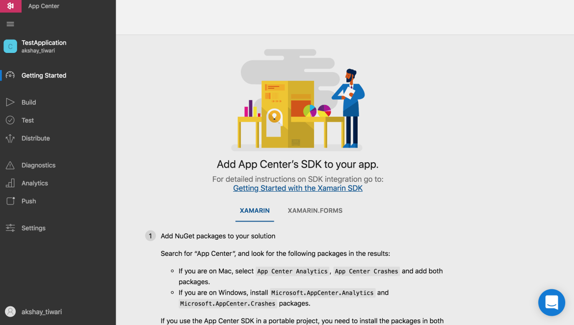 Visual Studio App Center