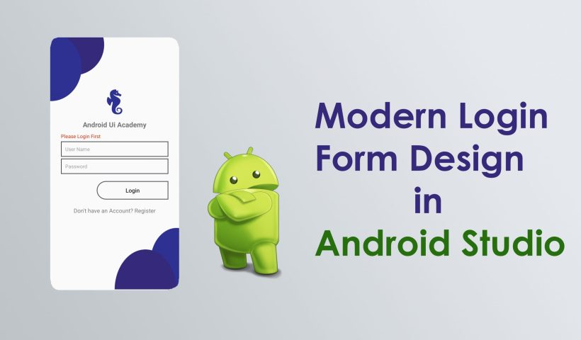 login form in android