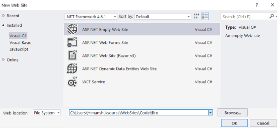 How to create ASP NET Registration Form Using C# and SQL Server Database