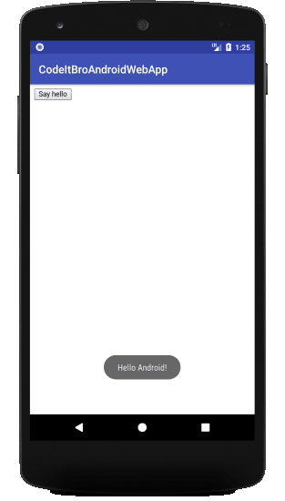 Connecting Android webview App to Website