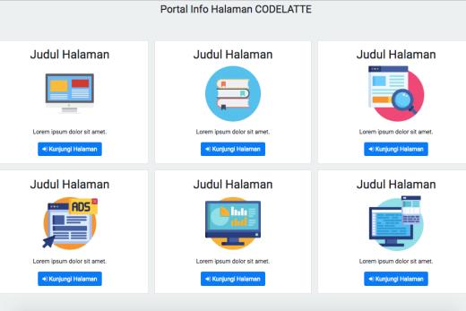 Membuat Landing Page Menggunakan Bootstrap