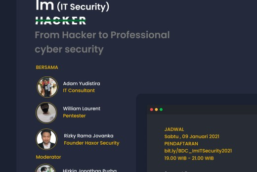 Webinar I'M IT SECURITY