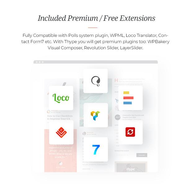 Thype | Multi-Concept Blog and WordPress Theme Magazine - 5