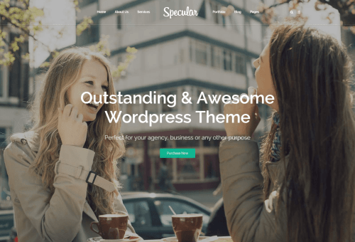 Specular Digital Agency WordPress Theme