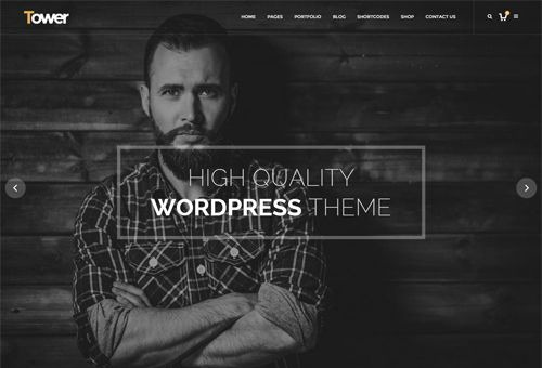 Tower Fullscreen WordPress Theme