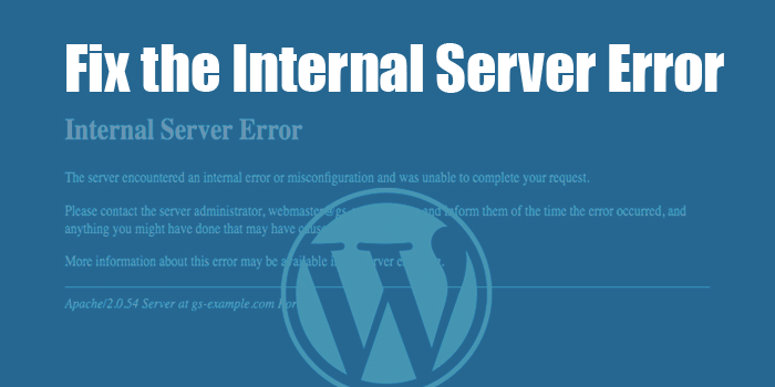 5 Issues of 500 Internal Server Error How To Fix - Codeless