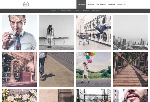 Tower FullPortfolio WordPress Theme