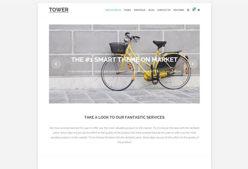 Tower Minimal WordPress Theme