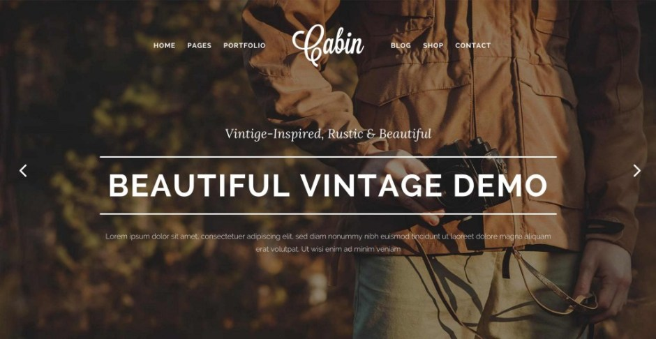 Cabin A Beautiful Vintage Inspired Theme-compressed