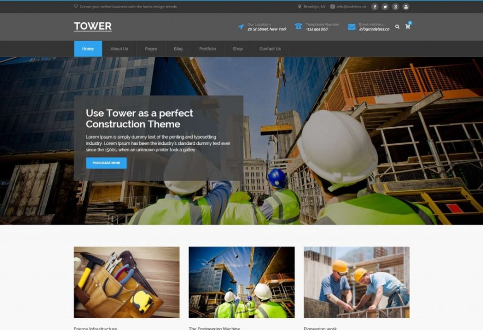 Construction Buildings Tower – The Multi Purpose WordPress Theme-compressed