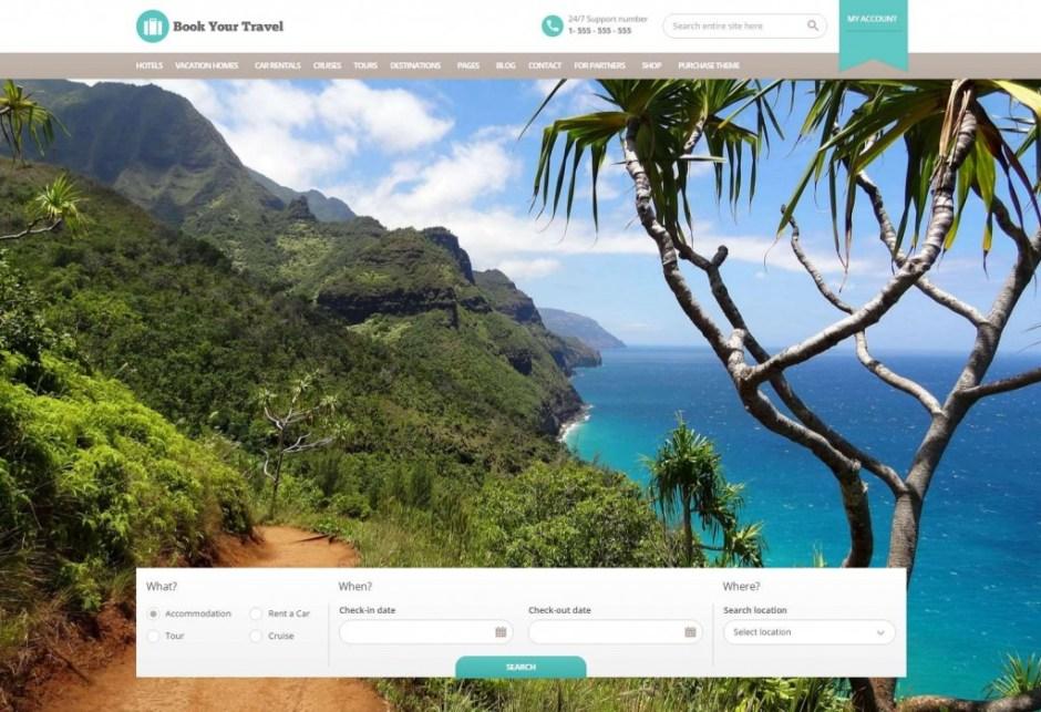 Book Your Travel – Premium WordPress Theme » Just another WordPress