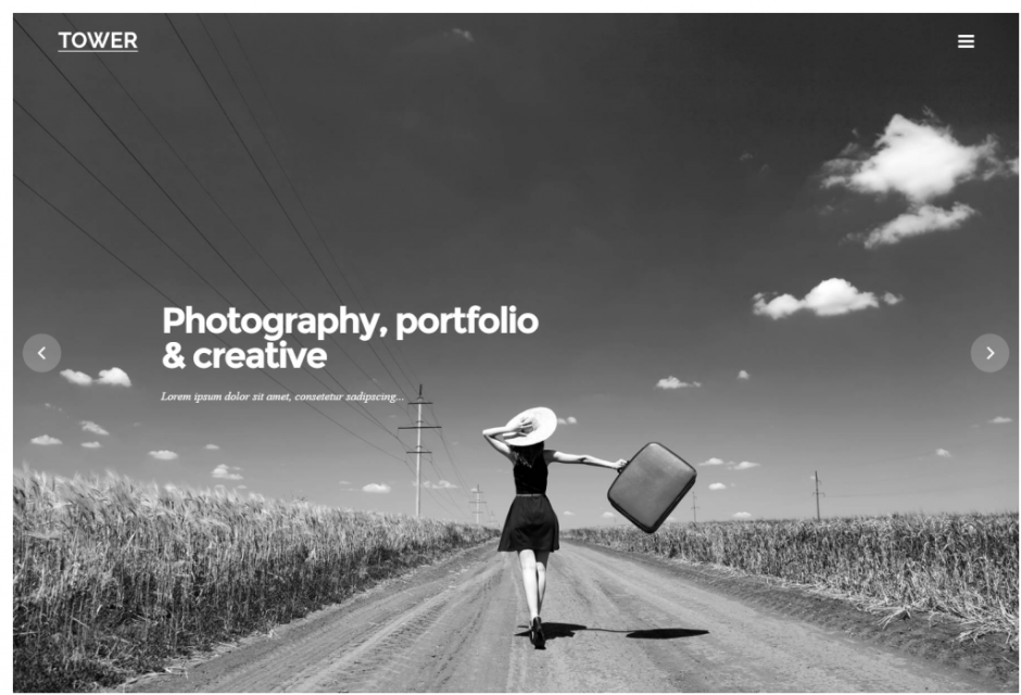 fullscreen-bordered-portfolio-tower-portfolio-gallery-photography-wordpress-theme
