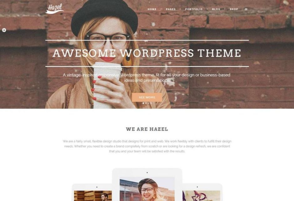 Hazel Creative Multi Purpose WordPress Theme-compressed
