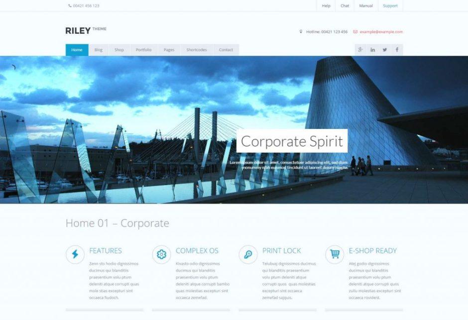 RILEY Corporate Multi Purpose WordPress Theme-compressed