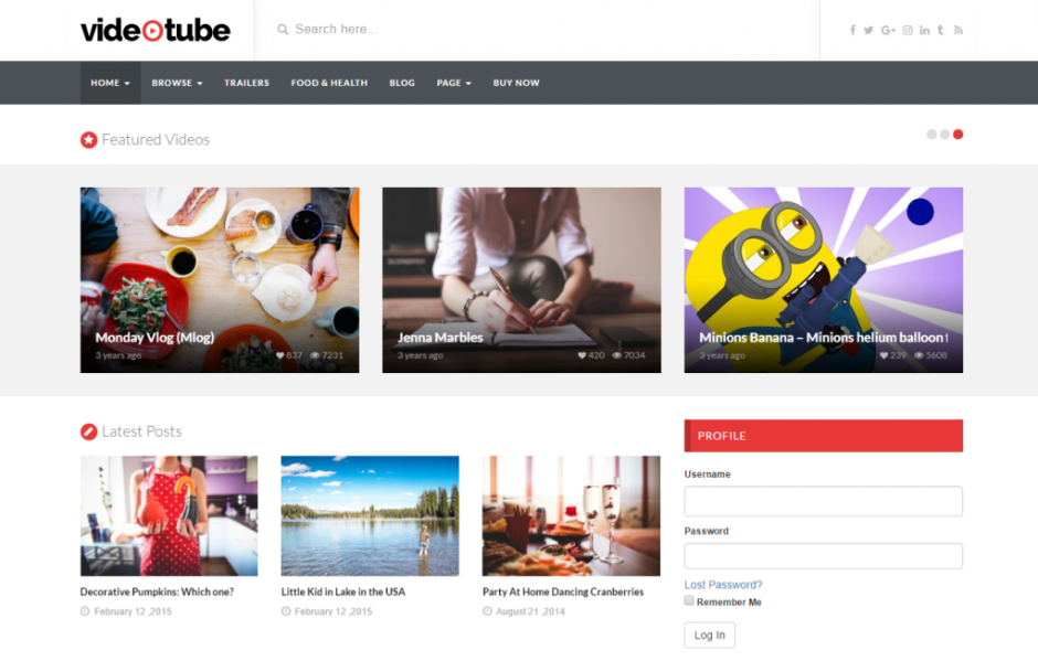 homepage-videotube-a-responsive-video-wordpress-theme