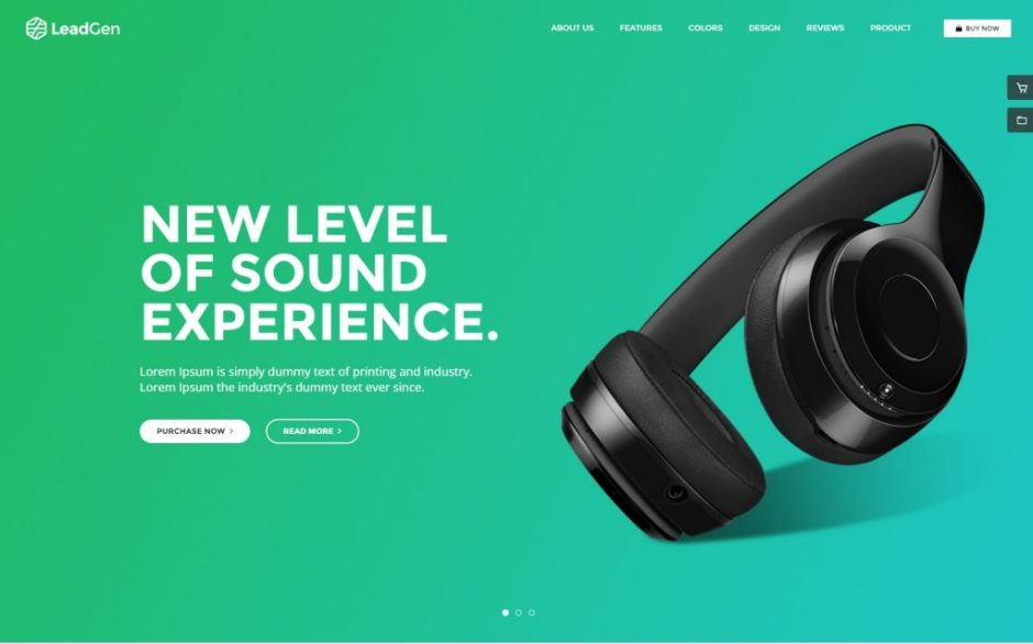 LeadGen Product Showcase Multipurpose Marketing Landing Page Pack with Page Builder-compressed