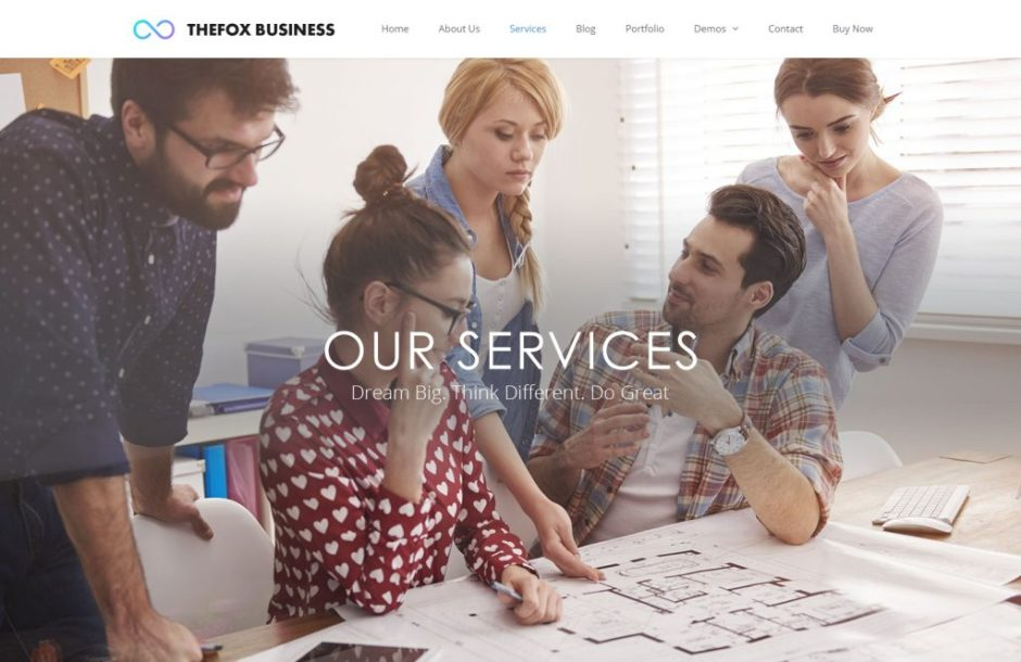 TheFox services theme