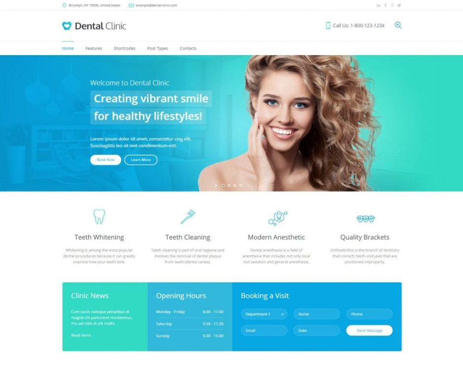 Dental Clinic – Just another WordPress site-compressed