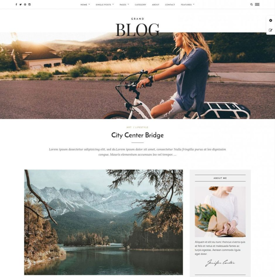 Grand Blog Responsive Blog Theme – Just another WordPress site-compressed