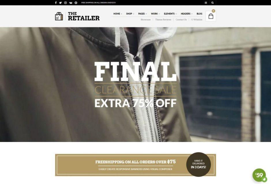 The Retailer – Premium eCommerce WordPress Theme-compressed