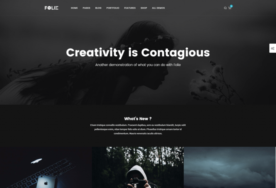 Blog Media Images – Folie – The Website Builder