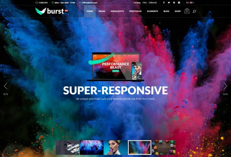Burst A Bold and Vibrant WordPress Theme1-compressed