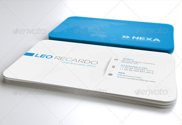 Global Business Card Ver. 2.0 by Unicogfx GraphicRiver