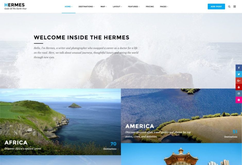 20+ Best WordPress Travel Themes for Hotels & Agencies