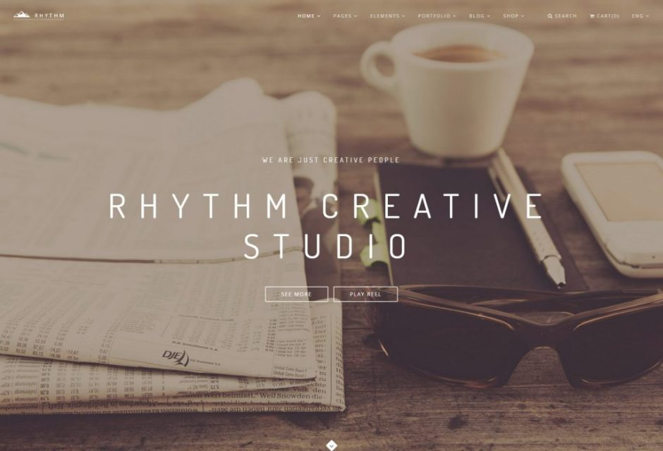 Image Parallax 3 – Rhythm-compressed