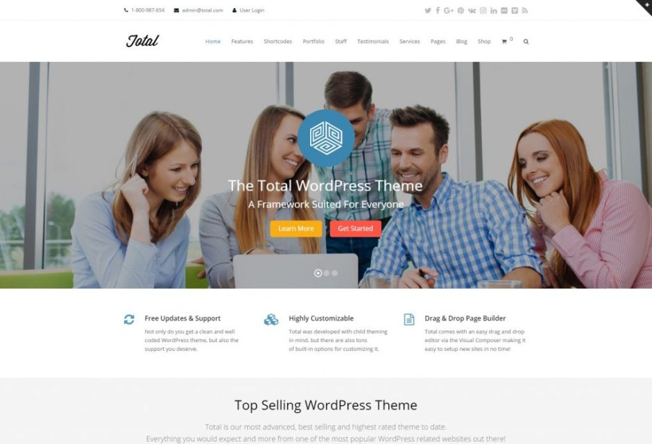 Total WordPress Theme-compressed