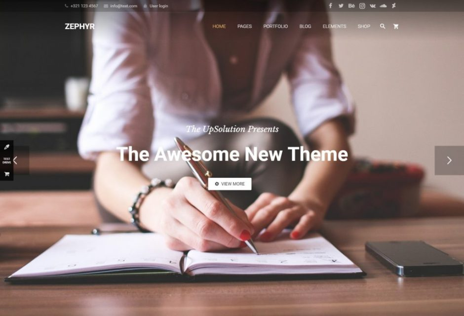 ZEPHYR Material Design Theme-compressed