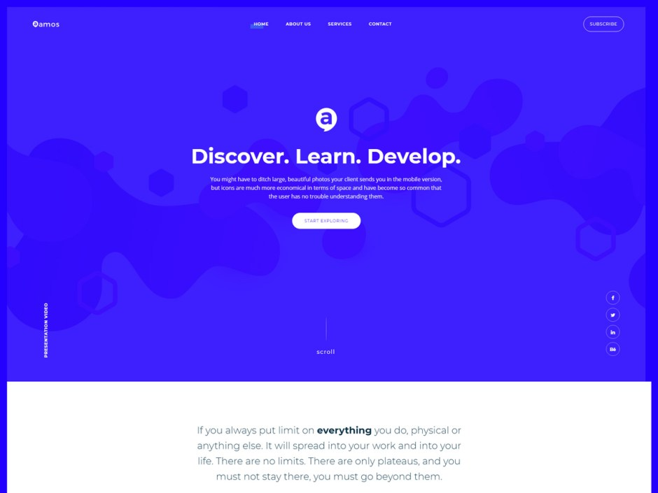 20+ Best Fresh WordPress Themes with Visual Composer - Codeless
