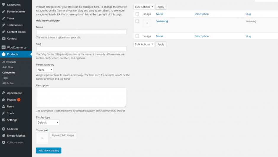 Product categories ‹ 1gsmunlock — WordPress