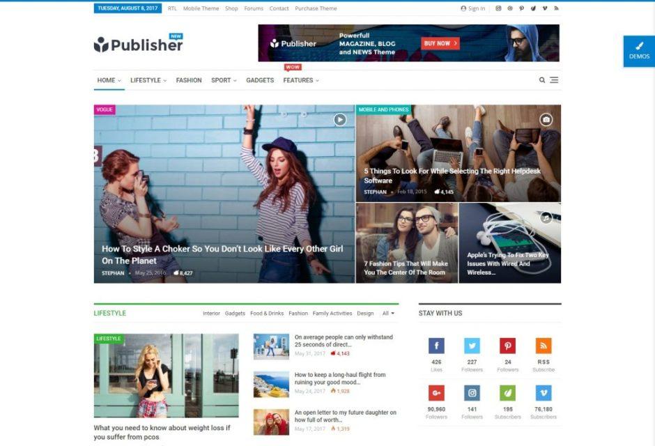 Publisher – Clean WordPress Magazine blog and news portal theme (1)-compressed