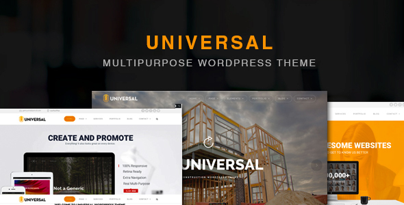 Universal - Free Business WordPress Theme - Premium WordPress Themes ...