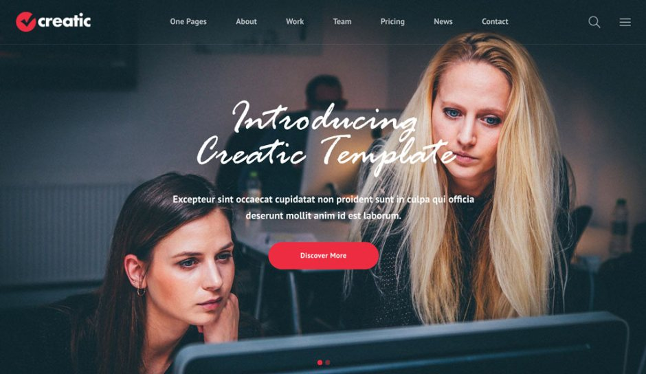 10+ Best One Page Scroll WordPress Themes - Codeless
