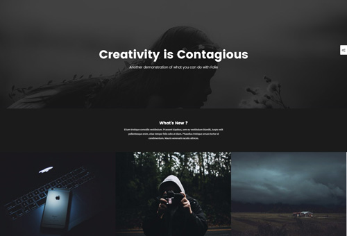 Folie Blog Grid WordPress Theme
