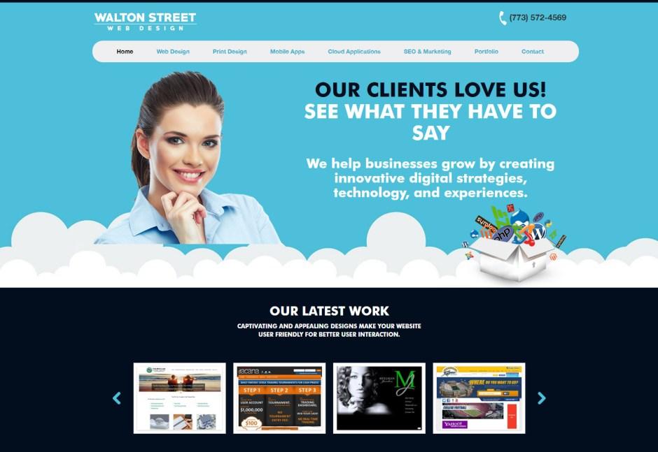 Walton Street Web Design - Web Agencies in Chicago