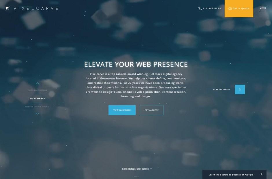 Pixelcarve - Web Agencies in Toronto