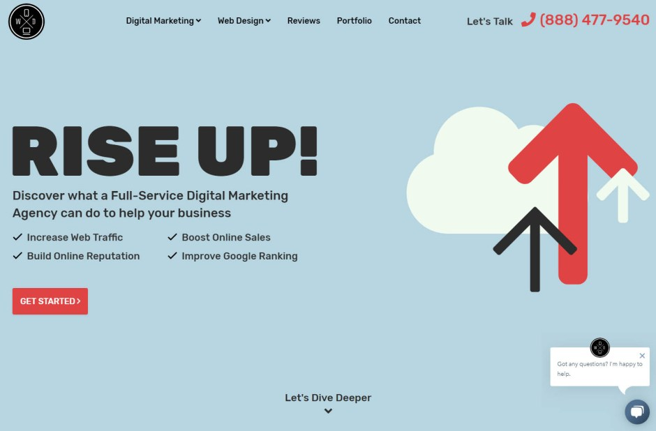 Website Depot - Web Agencies in California