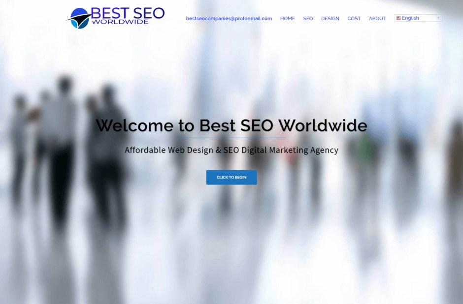 Best SEO Worldwide - Web Agencies in California